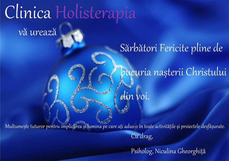 felictare holisterapia decembrie 2012 var finala