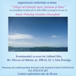Conferinta în Constanta pe 12.07.2014 ora 11